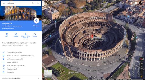 Colosseum in Maps (500p)